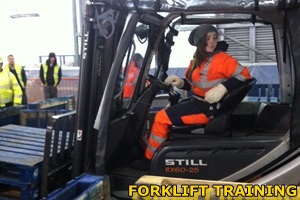 Fork Lift training from W&S Training