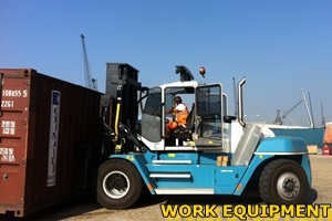 Reach Truck training with W&S training